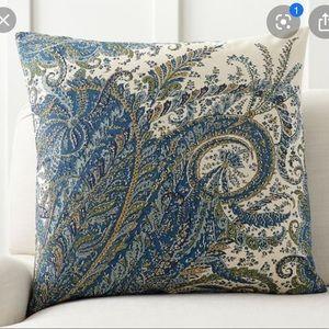 Pottery Barn Ellis Paisley Pillows